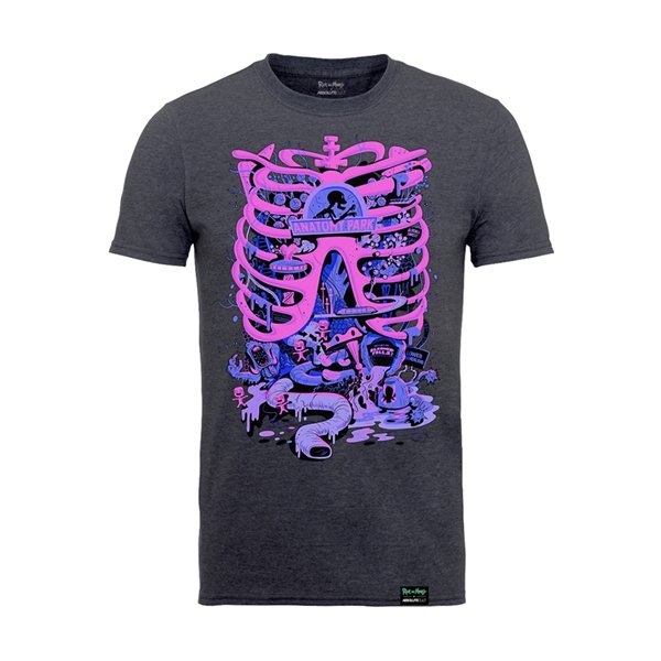 Rick And Morty X Absolute Cult T-Shirt ANATOMY PARK