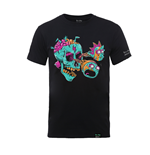 Rick And Morty X Absolute Cult T-Shirt EYEBALL SKULL