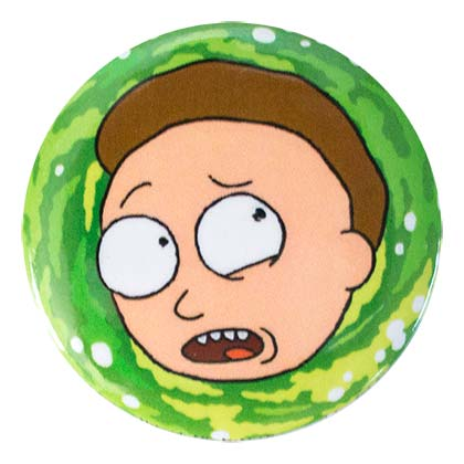Brosche Rick and Morty