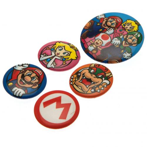 Super Mario Set Schilder