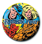 Brosche Marvel Fantastic Four - 25mm
