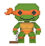 Teenage Mutant Ninja Turtles 8-Bit POP! Vinyl Figur Michelangelo 9 cm