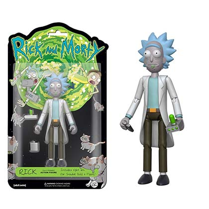 Actionfigur Rick and Morty