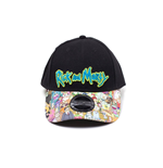 Rick & Morty Baseball Cap Sublimated Print Curved Bill