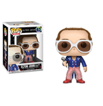Elton John POP! Rocks Vinyl Figur Elton John Red, White & Blue 9 cm