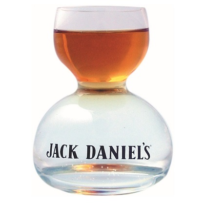 Glas Jack Daniel's  On Water Shot Glass
