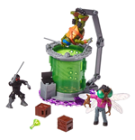 Teenage Mutant Ninja Turtles Mega Bloks Bauset Baxter Mutation Lab