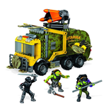 Teenage Mutant Ninja Turtles Mega Bloks Bauset Battle Truck