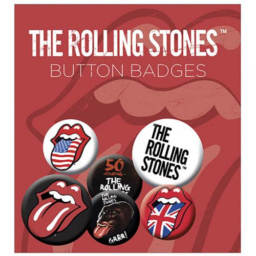 Brosche The Rolling Stones