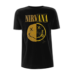 T-Shirt Nirvana Spliced Smiley