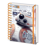 Star Wars Episode VIII Wiro Notizbuch A5 BB-8