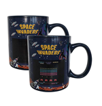 Space Invaders Tasse mit Thermoeffekt