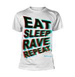 Fatboy Slim T-Shirt EAT SLEEP RAVE REPEAT
