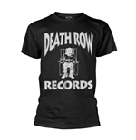 T-Shirt Death Row Records Logo in schwarz