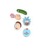 Rick and Morty Ansteck-Buttons 5er-Pack Characters