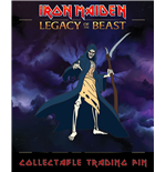 Iron Maiden Legacy of the Beast Ansteck-Button Reaper Eddie