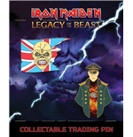 Iron Maiden Legacy of the Beast Ansteck-Button Doppelpack Trooper Eddie & General