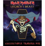 Iron Maiden Legacy of the Beast Ansteck-Button Vampire Hunter Eddie