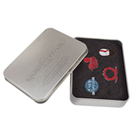 God of War Ansteck-Buttons 4-er Pack Geschenkbox