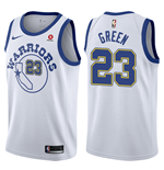 Golden State Warriors Draymond Green Nike Hardwood Classic Replik Trikot