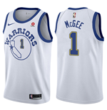 Golden State Warriors JaVale McGee Nike Hardwood Classic Replik Trikot