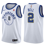 Golden State Warriors Jordan Bell Nike Hardwood Classic Replik Trikot