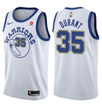 Golden State Warriors Kevin Durant Nike Hardwood Classic Replik Trikot