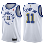 Golden State Warriors Klay Thompson Nike Hardwood Classic Replik Trikot