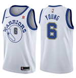 Golden State Warriors Nick Young Nike Hardwood Classic Replik Trikot
