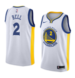 Golden State Warriors Jordan Bell Nike Association Edition Replik Trikot