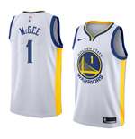 Golden State Warriors Javale McGee Nike Association Edition Replik Trikot