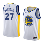 Golden State Warriors Zaza Pachulia Nike Association Edition Replik Trikot