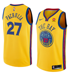 Golden State Warriors Zaza Pachulia Nike City Edition Replik Trikot