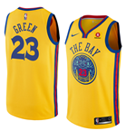 Golden State Warriors Draymond Green Nike City Edition Replik Trikot