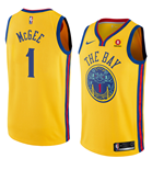 Golden State Warriors Javale McGee Nike City Edition Replik Trikot