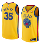 Golden State Warriors Kevin Durant Nike City Edition Replik Trikot