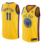 Golden State Warriors Klay Thompson Nike City Edition Replik Trikot