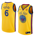 Golden State Warriors Nick Young Nike City Edition Replik Trikot