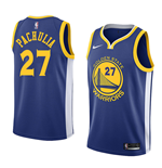 Golden State Warriors Zaza Pachulia Nike Icon Edition Replik Trikot