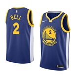 Golden State Warriors Jordan Bell Nike Icon Edition Replik Trikot