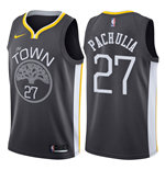 Golden State Warriors Zaza Pachulia Nike Statement Edition Replik Trikot