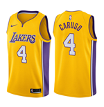 Los Angeles Lakers Alex Caruso Nike Icon Edition Replik Trikot