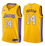 Los Angeles Lakers Brandon Ingram Nike Icon Edition Replik Trikot