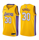 Los Angeles Lakers Julius Randle Nike Icon Edition Replik Trikot