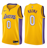 Los Angeles Lakers Kyle Kuzma Nike Icon Edition Replik Trikot
