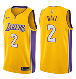 Los Angeles Lakers Lonzo Ball Nike Icon Edition Replik Trikot