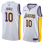 Los Angeles Lakers Tyler Ennis Nike Association Edition Replik Trikot