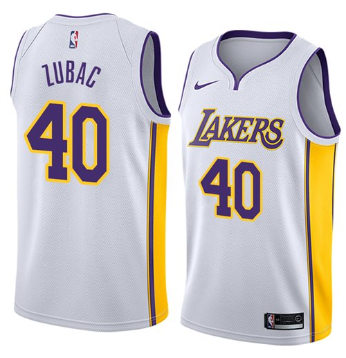 Los Angeles Lakers Ivica Zubac Nike Association Edition Replik Trikot