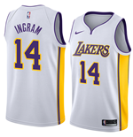 Los Angeles Lakers Brandon Ingram Nike Association Edition Replik Trikot