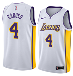 Los Angeles Lakers Alex Caruso Nike Association Edition Replik Trikot